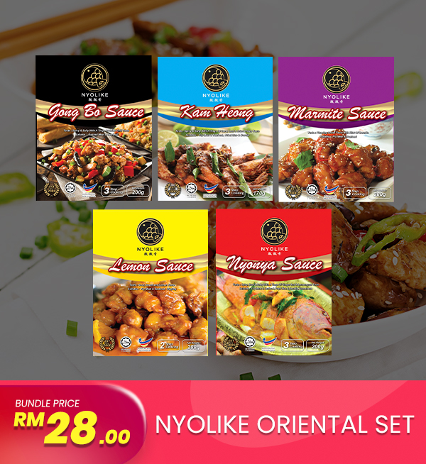 [Combo] Nyolike Oriental Sets (5 packs Bundle)