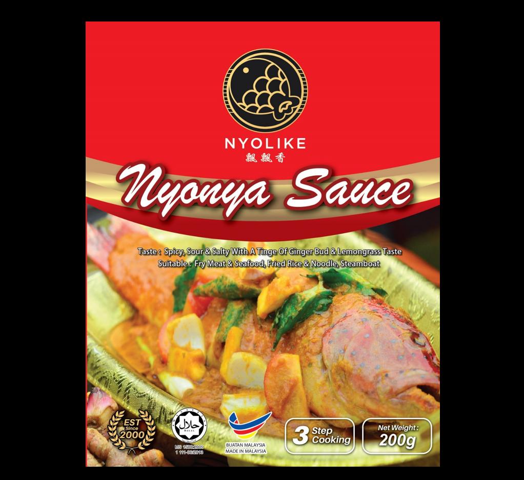 NYOLIKE Nyonya Sauce (Pack Bundle)