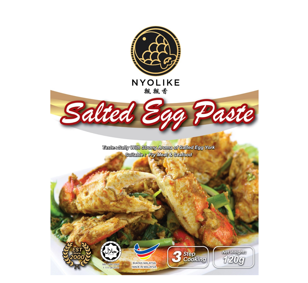 NYOLIKE Salted Egg Paste (Bundle Packs)