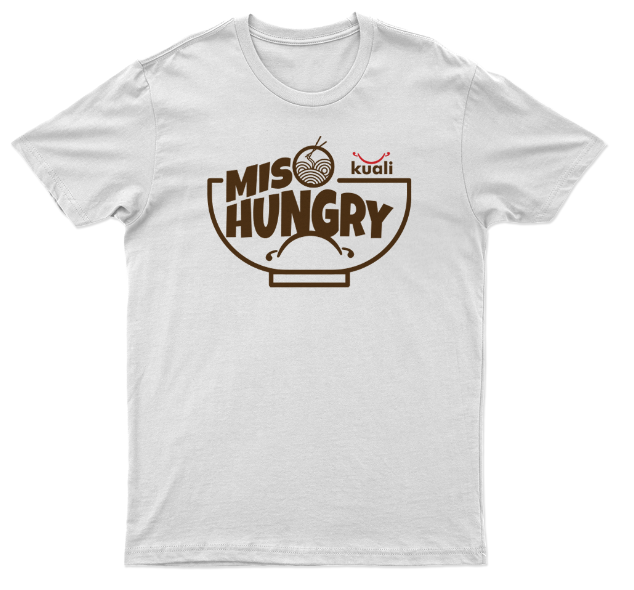 Kuali T-shirt Miso Hungry