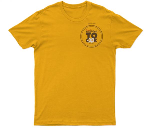 Kuali T-Shirts Kualified-to-cook1