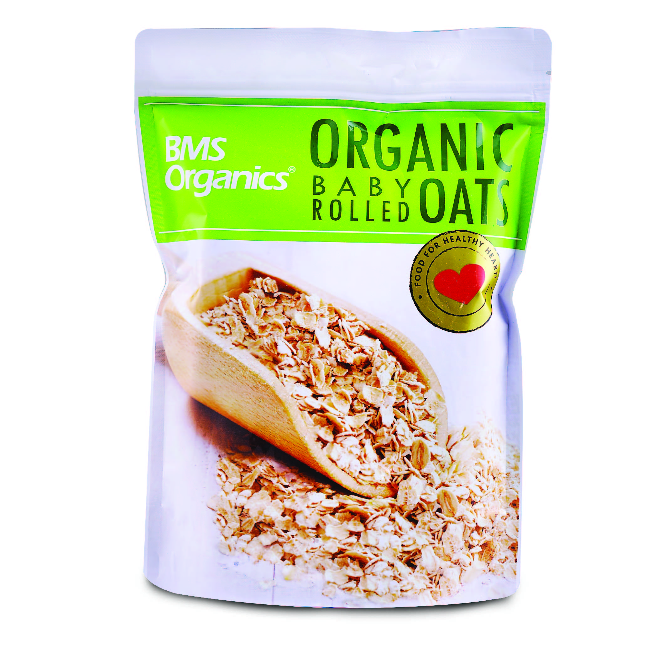 BMS Organics Baby Rolled Oat (3 Packs Bundle)