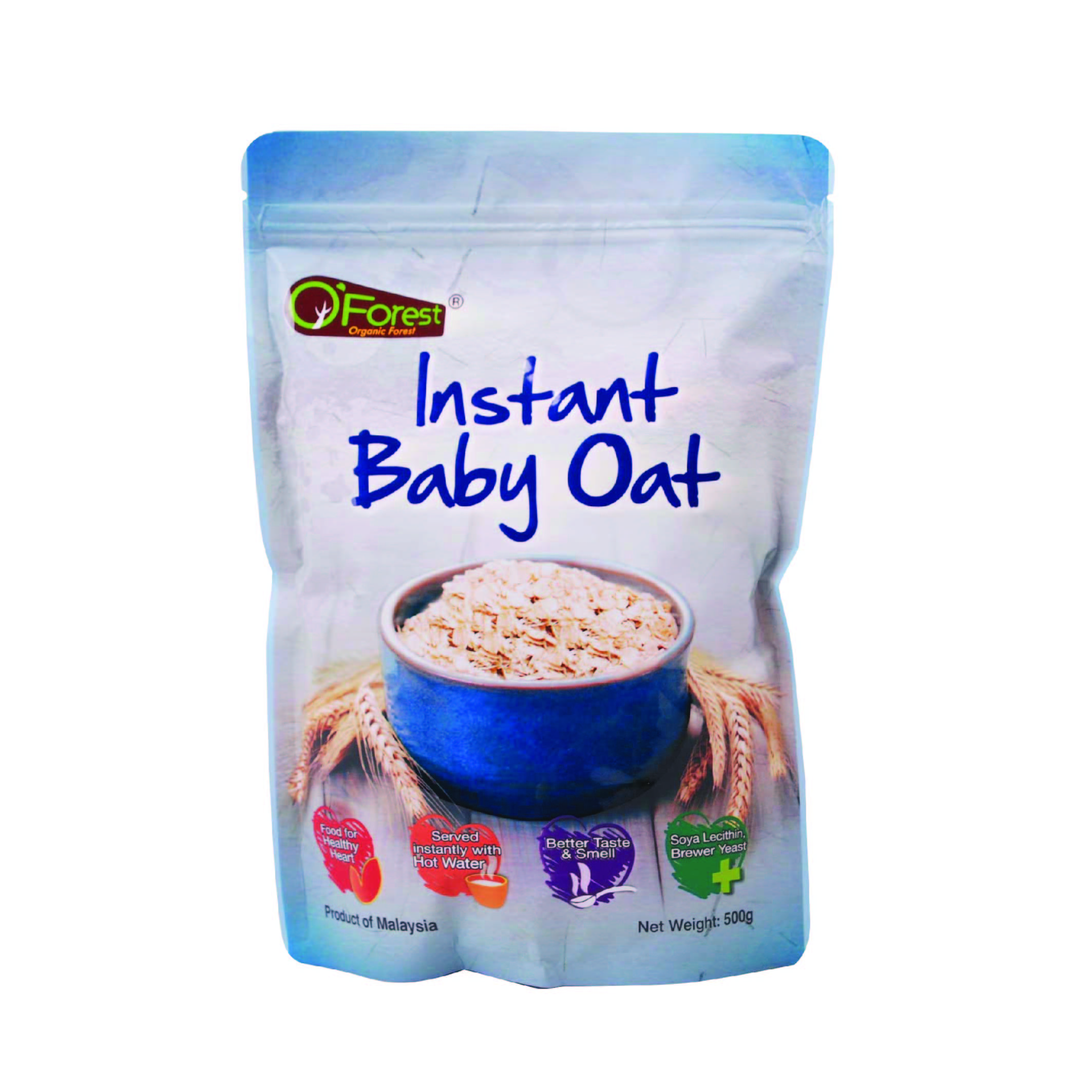 BMS Organics Instant Baby Oat (3 Packs Bundle)