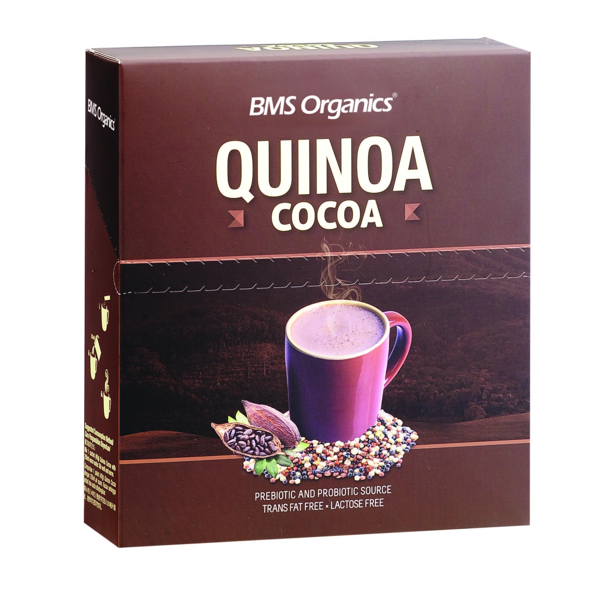 BMS Organics Quinoa Cocoa (40g x 10 sachets)