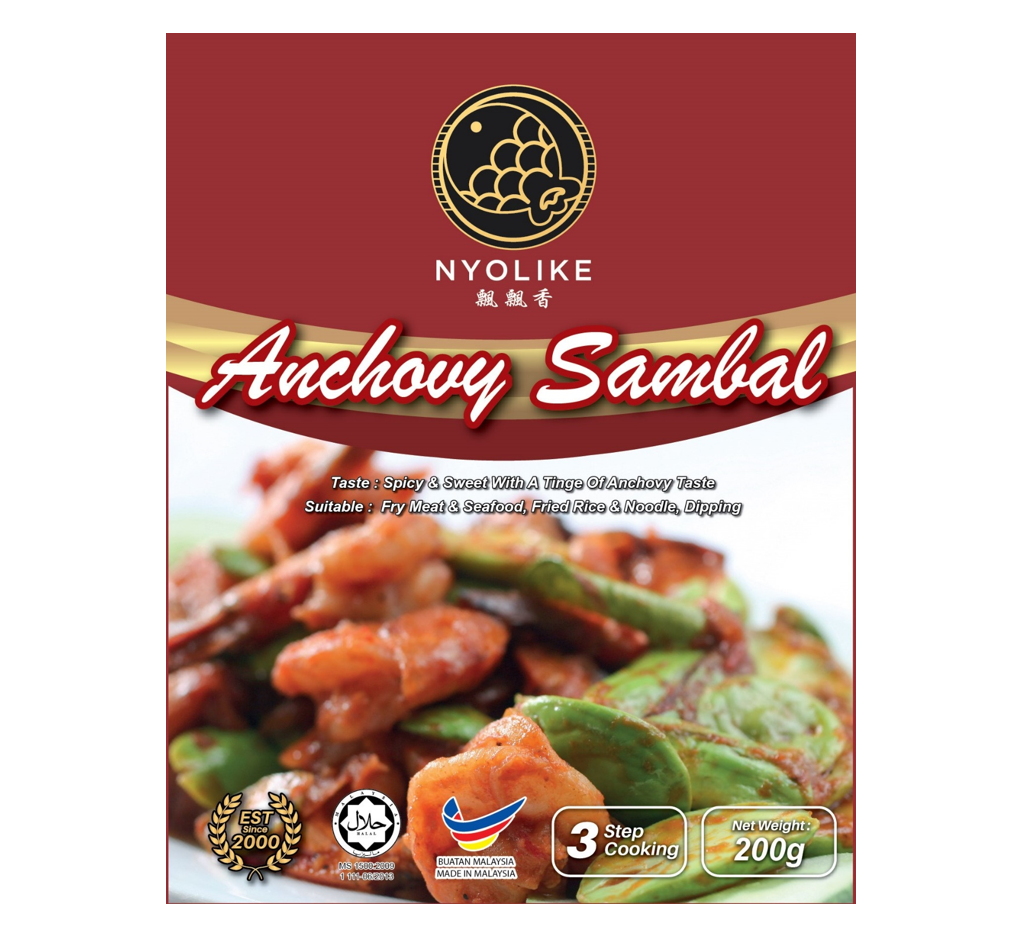NYOLIKE Anchovy Sauce (Bundle Packs)
