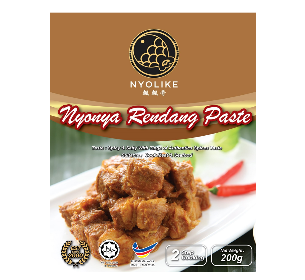 NYOLIKE Nyonya Rendang Paste (Bundle Packs)