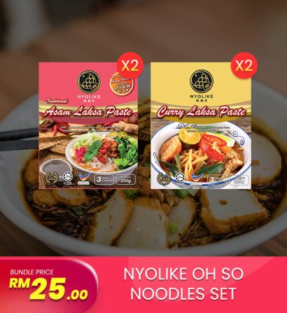 [Combo] Nyolike Oh So Noodle Sets (4 packs Bundle)