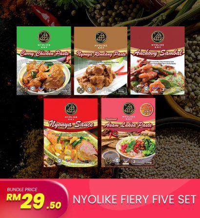 [Combo] Nyolike Fiery Five Sets (5 packs Bundle)