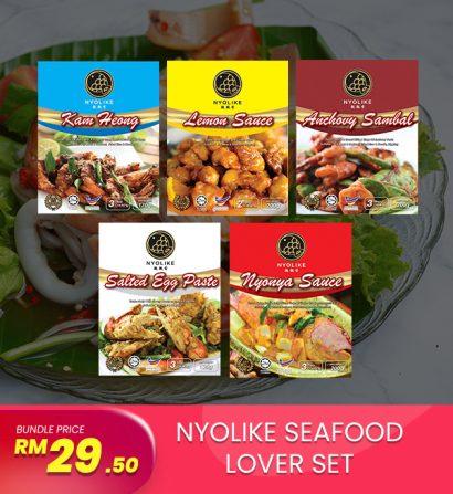 [Combo] Nyolike Seafood Lover Sets (5 packs Bundle)