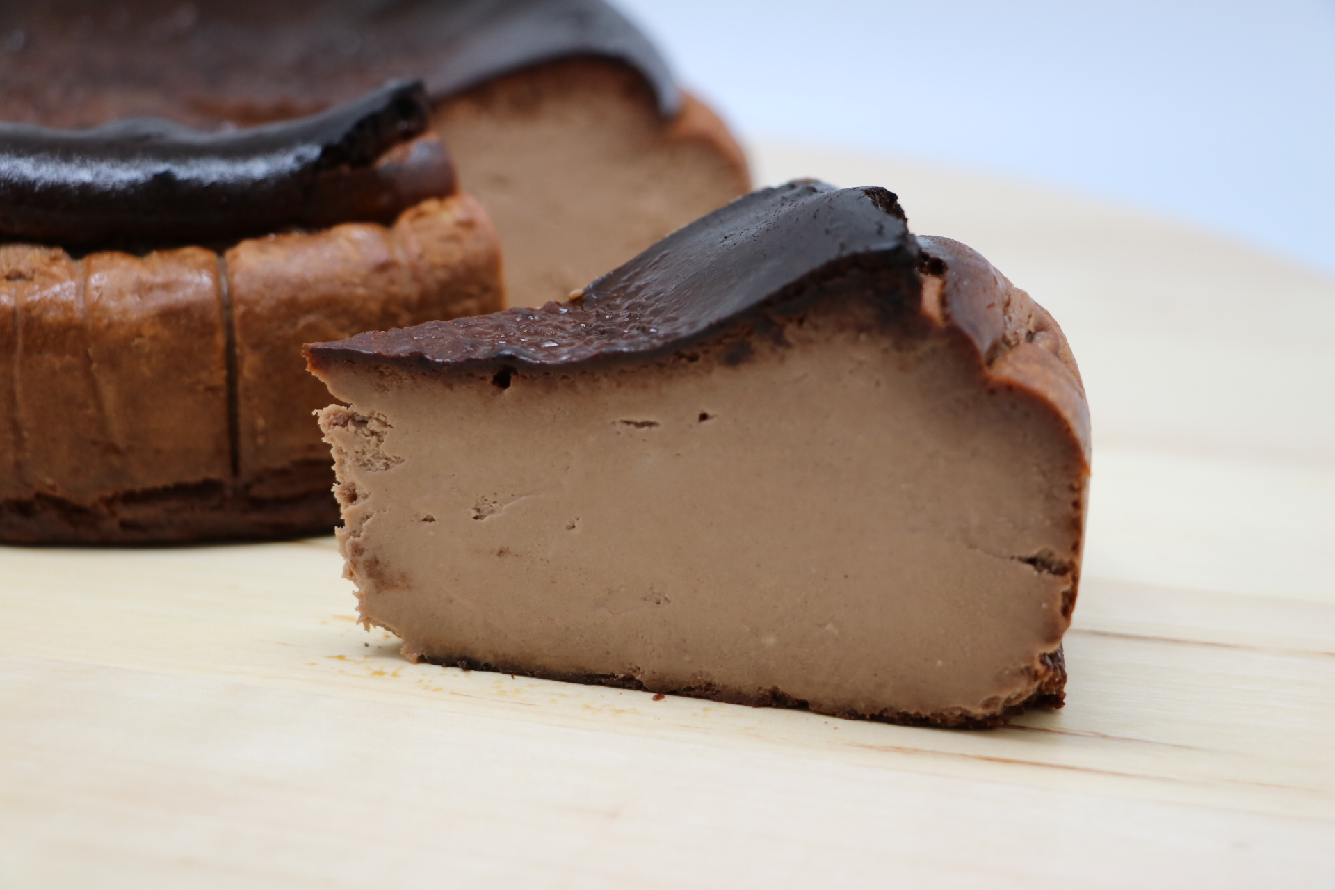Chocolate Burnt Cheesecake