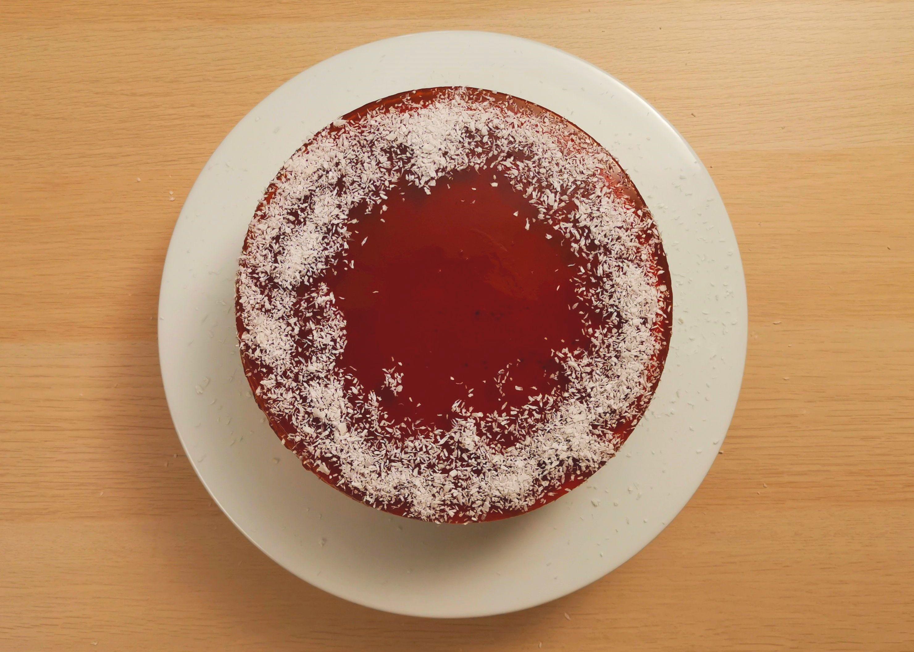 Pandan Gula Melaka Cheesecake