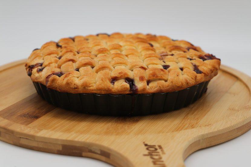 Blueberry & Peach Pie Pizza