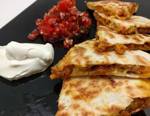 Chicken Curry Quesadilla