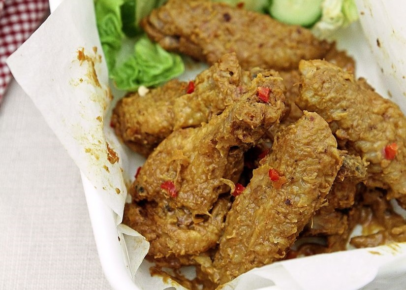 'Ayam Percik' Buffalo Wings