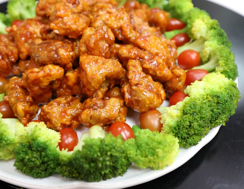 Spicy Sweet Chicken Poppers