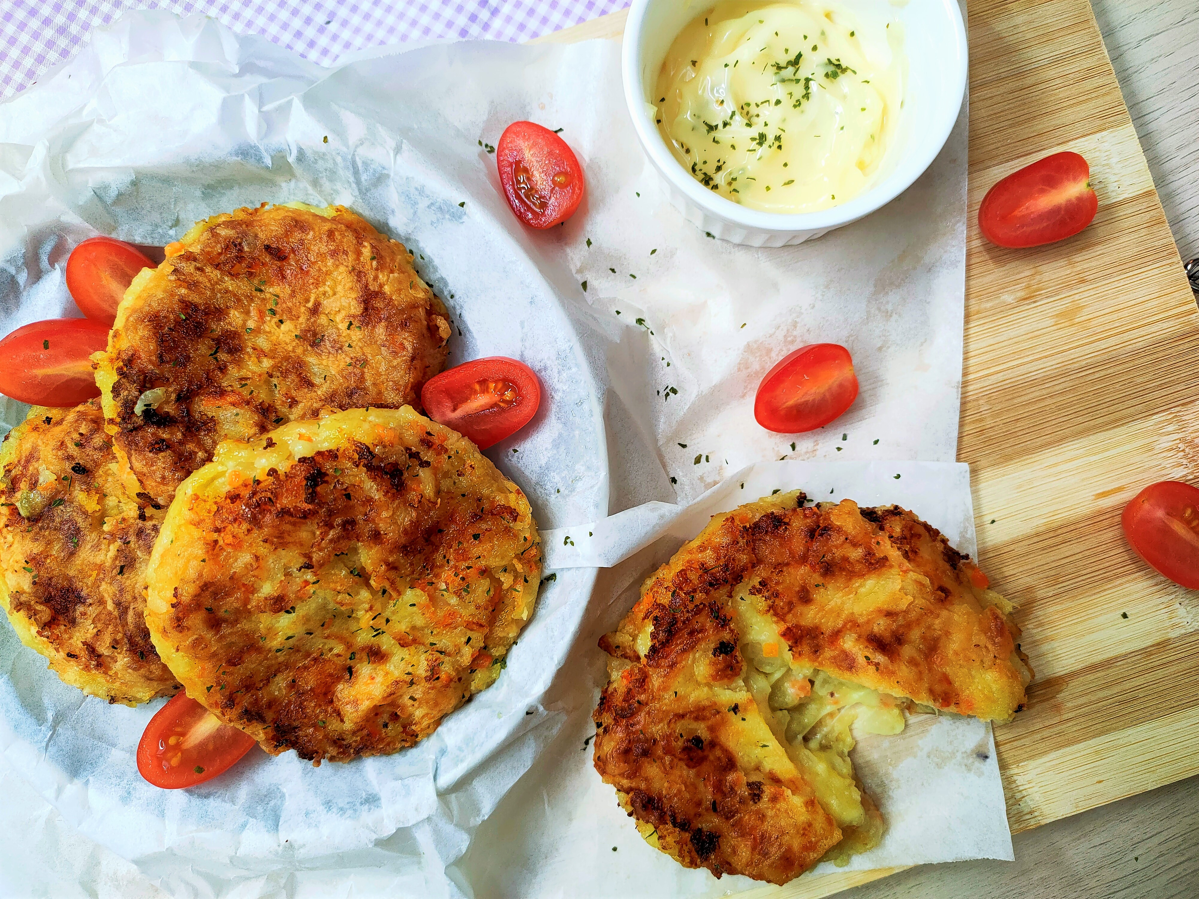 potato begedil kentang