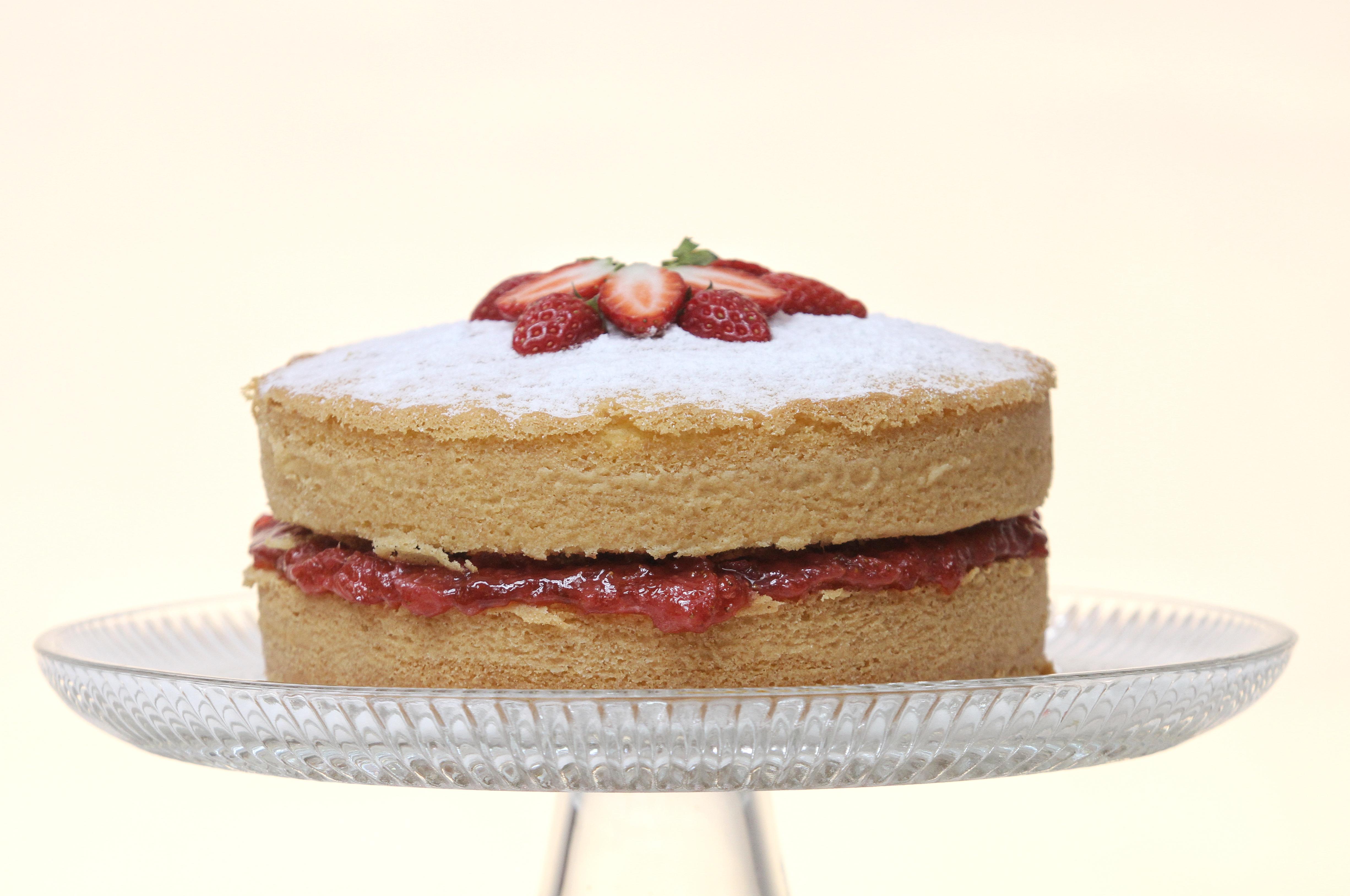 VIctoria sandwich - a classic British cake
