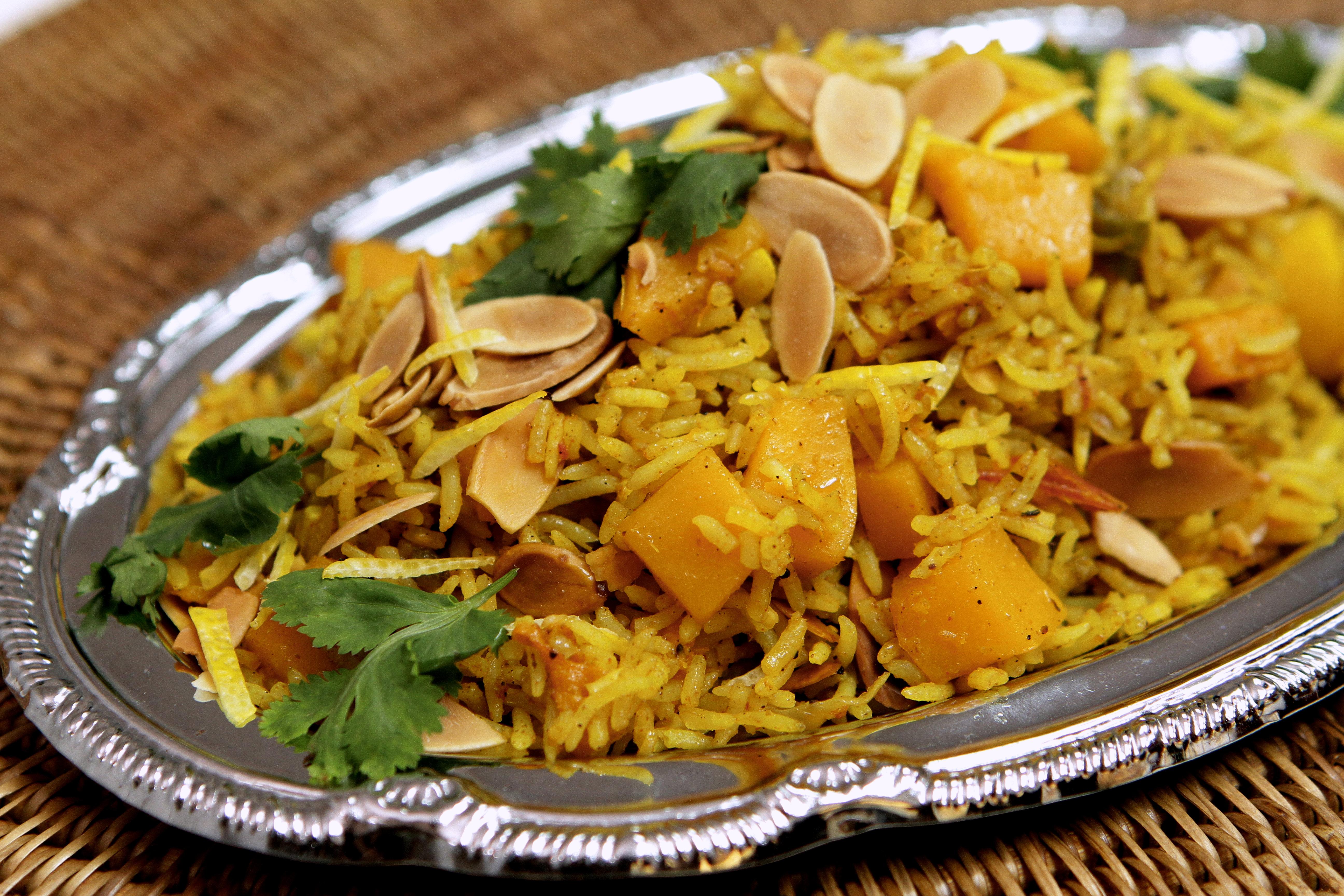 Pumpkin Briyani