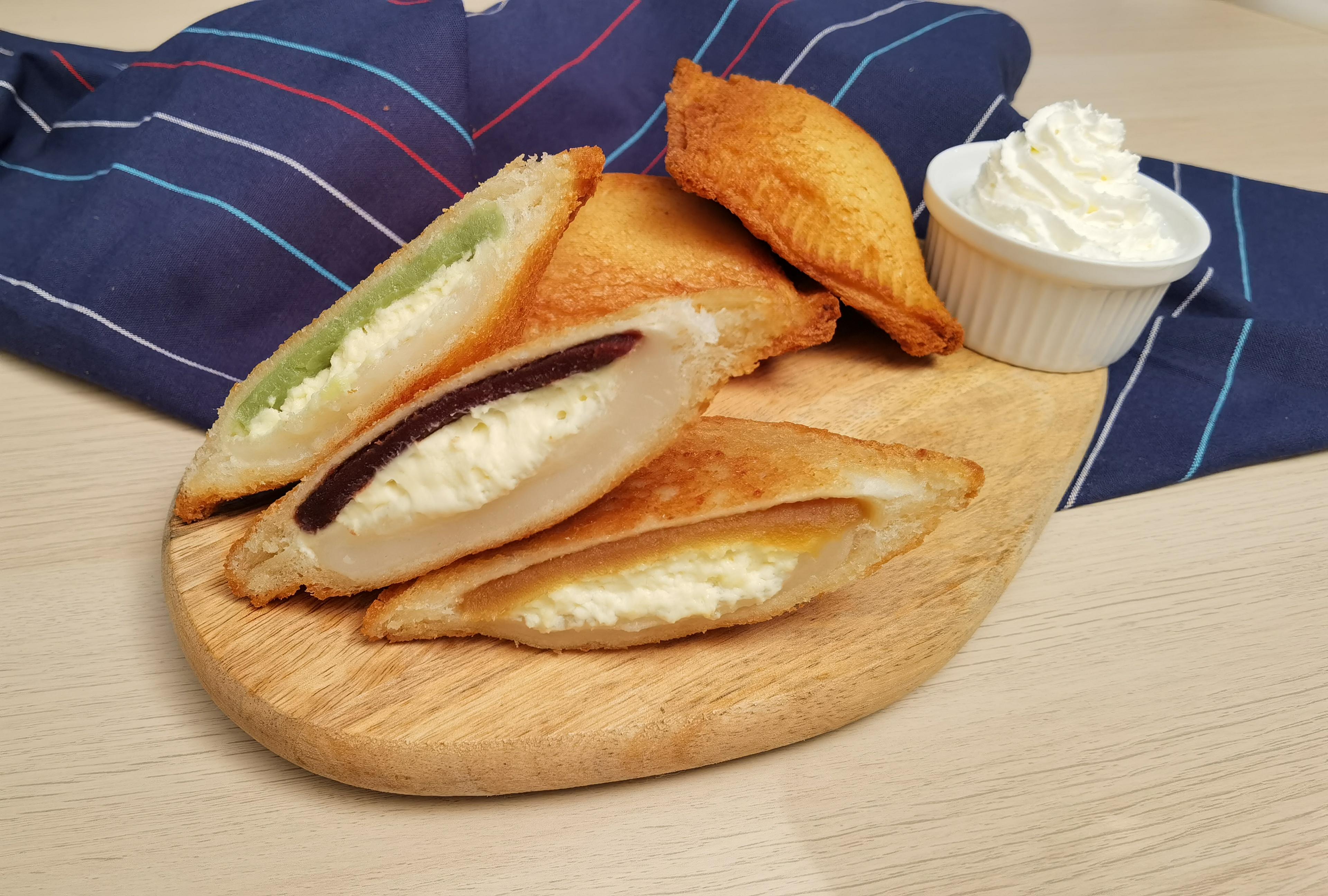 Fried Mochi Sandwich