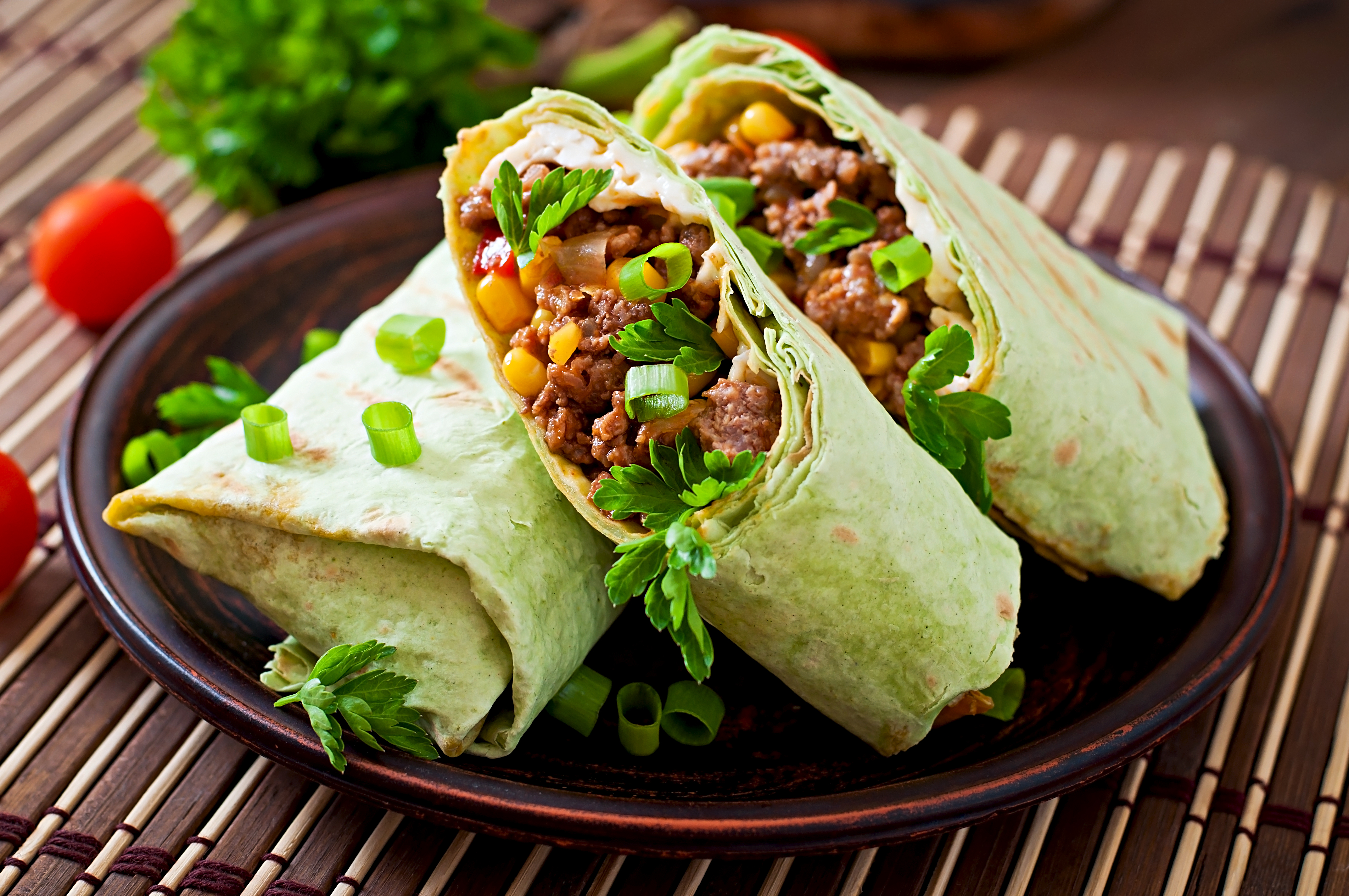 Minced-Beef-Wrap