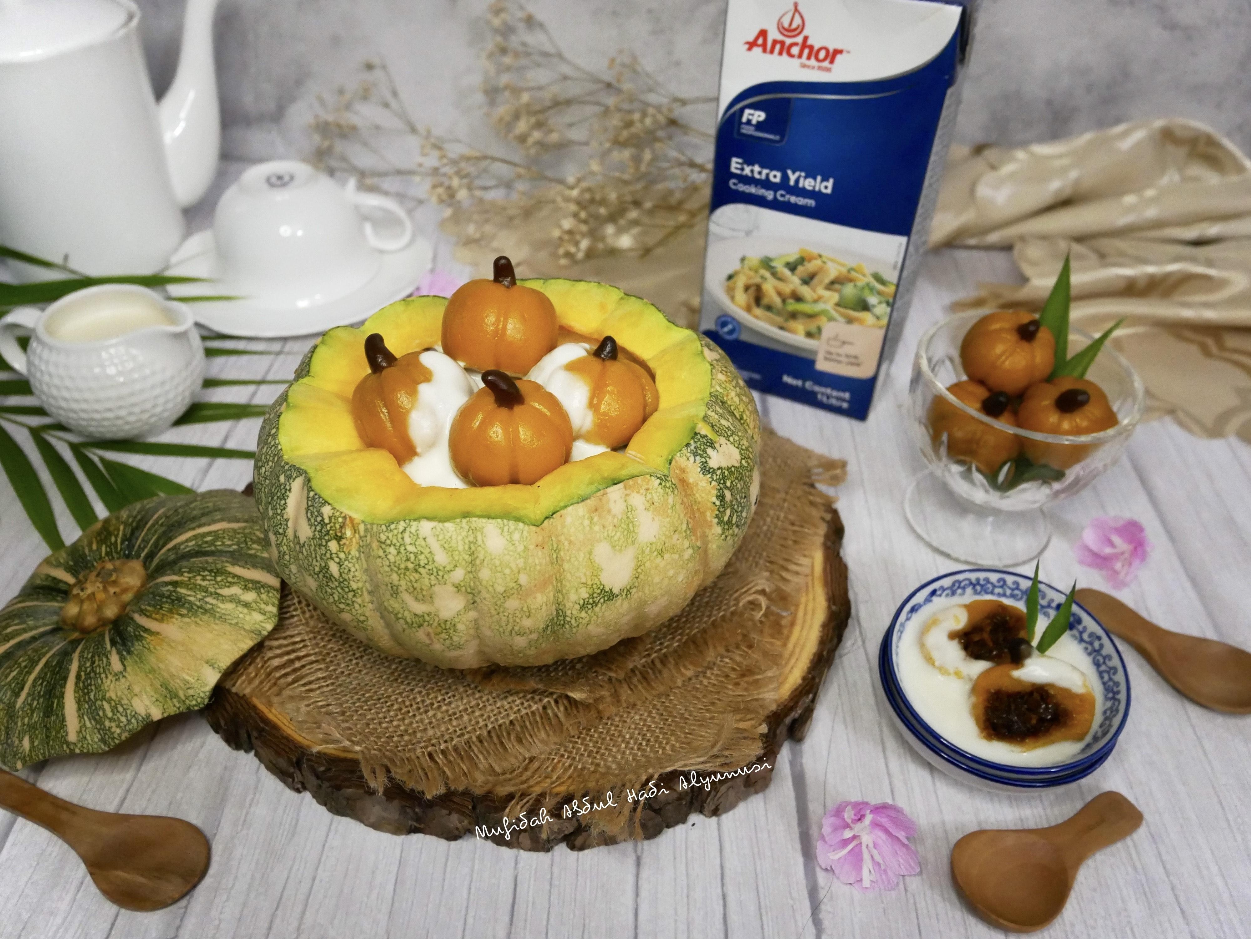 Pumpkin Badak Berendam