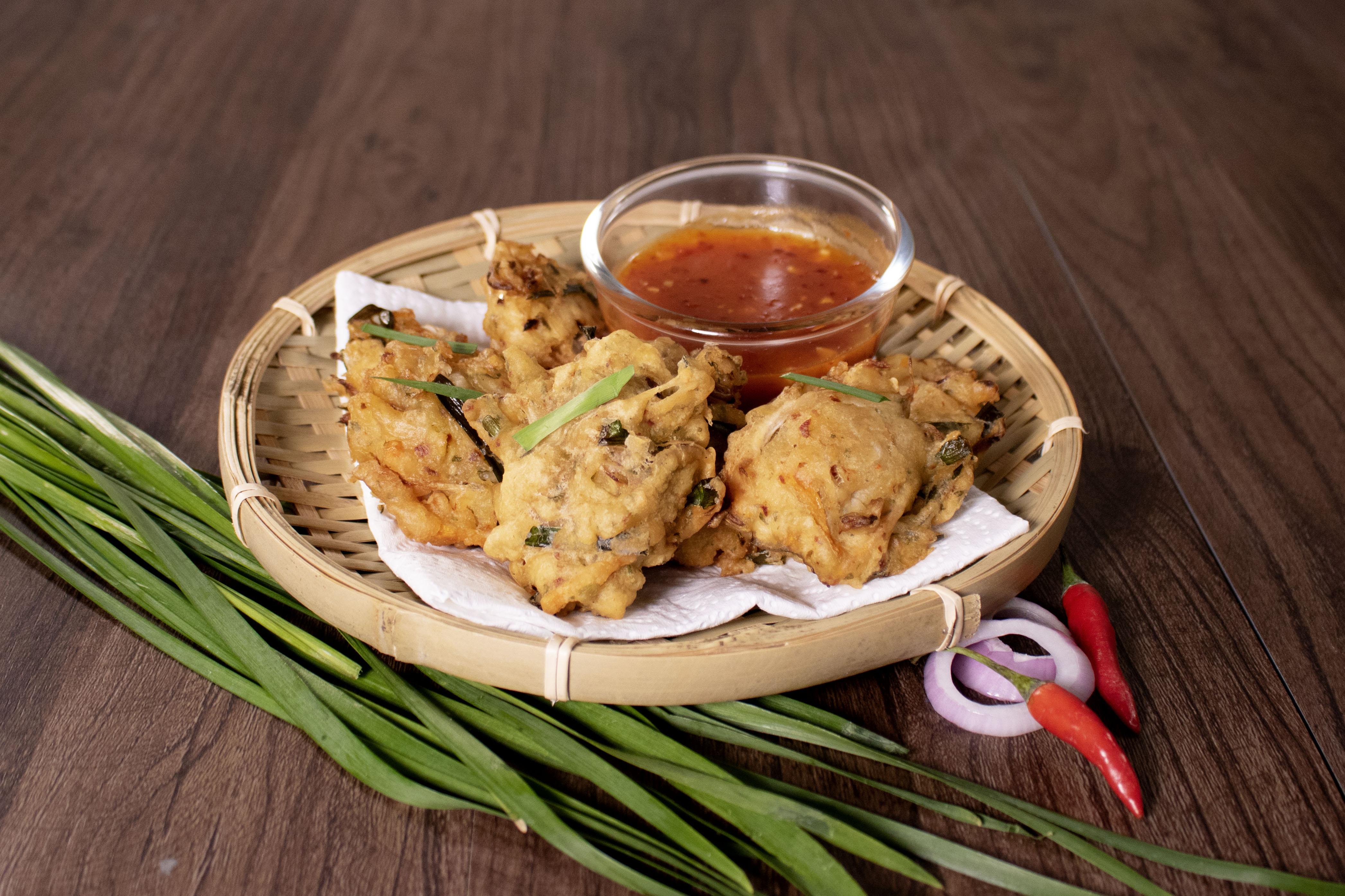Cucur Sayur Rangup Vegetable Fritters