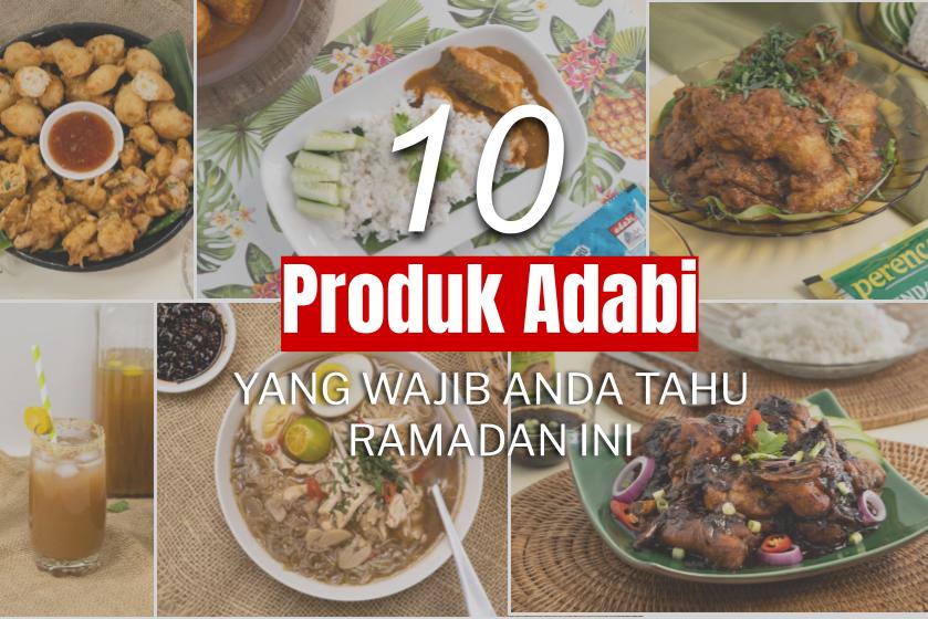 10 Produk Adabi Yang Wajib Anda Tahu Ramadan Ini