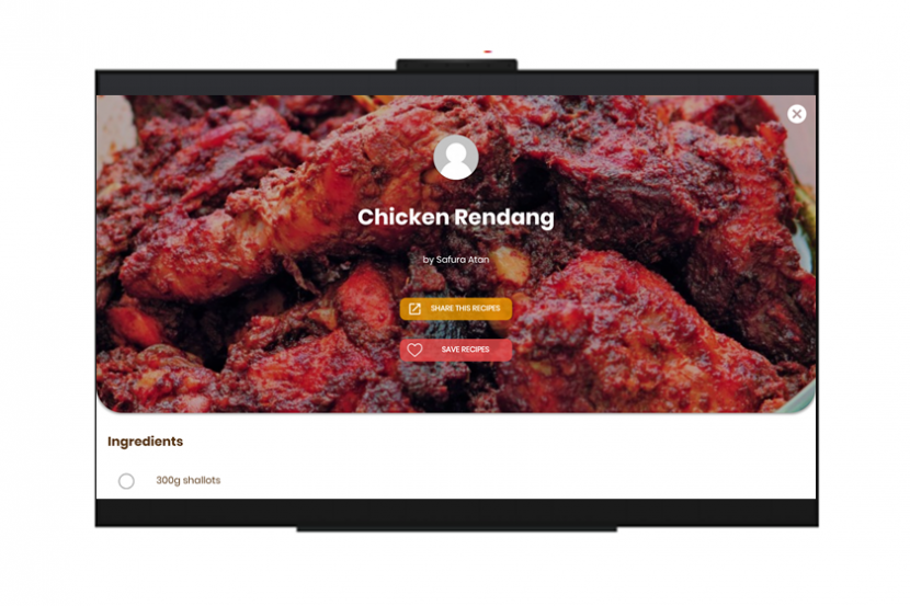 Kuali-App-Vision-TV-Recipe-Page