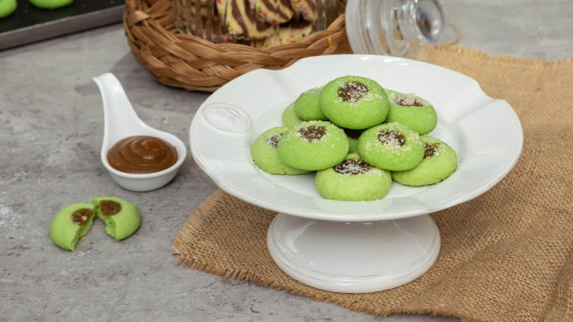 pandan-kaya-cookies