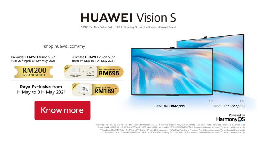 Huawei Vision S TV