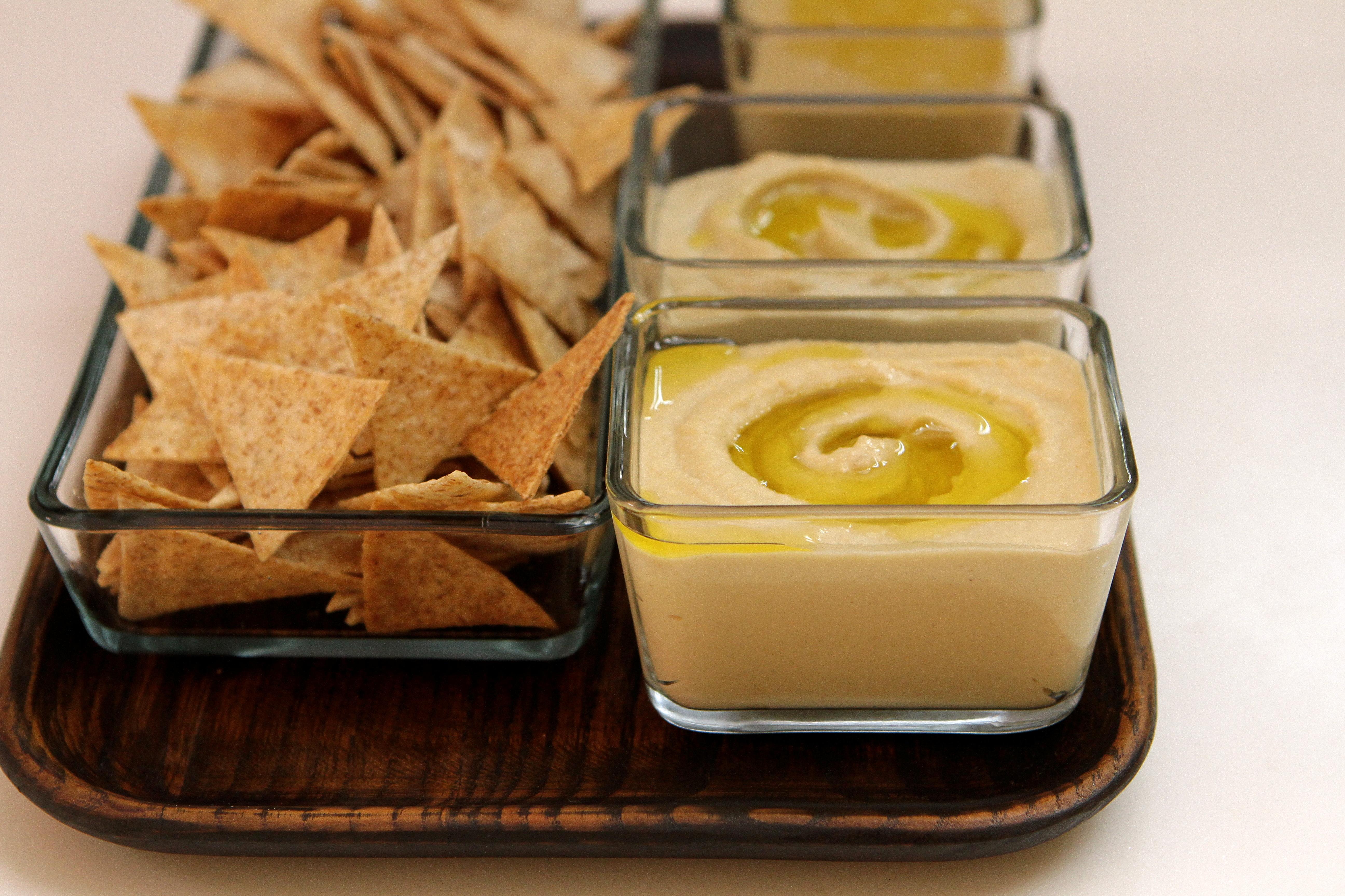 Hummus and Baba Ghanoush