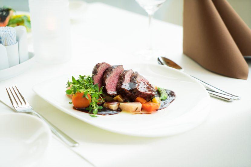 Steak with Balsamic sauce