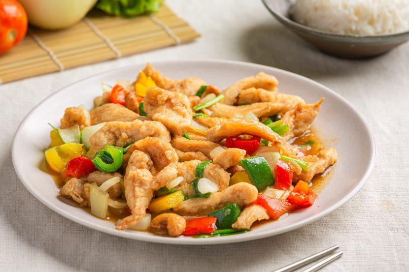 savoury chicken stir fry