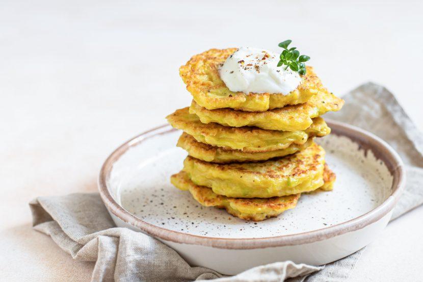 Savoury Okara Pancakes
